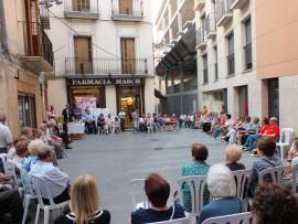 El centre històric de Balaguer estrena imatge de Sant Jaume.