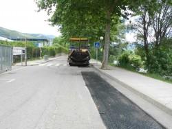 Actuacions puntuals d'asfaltatge a carrers de la Seu d'Urgell.