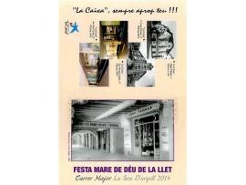 El carrer Major de la Seu d'Urgell celebra la Festa de la Mare de Déu de la Llet .