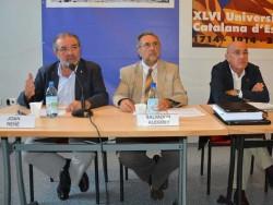 La Mancomunitat, un dels temes centrals de la Universitat Catalana d'Estiu de Prada.