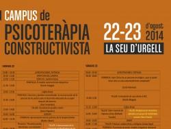 La Seu d'Urgell inaugura demà I Campus Psicoteràpia Constructivista.