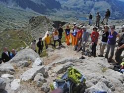 Homenatge al poeta Joan Vinyoli en l'any del centenari del seu naixement fent el cim del Montardo.