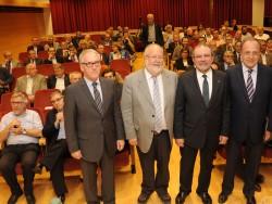 Les quatre diputacions reconeixen en la Mancomunitat la recuperació de l'autogovern de Catalunya.