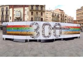 """Lleida acull la mostra """"300 anys després"""", una exposició itinerant sobre el Tricentenari."""