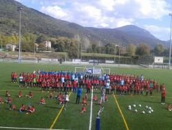 La Seu d'Urgell inaugura nova gespa del camp futbol.