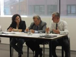 Reunió del projecte Espais i Temps de la Transició a Lleida.