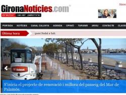 El portal Gironanoticies.com estrena un disseny més interactiu i amb múltiples novetats.