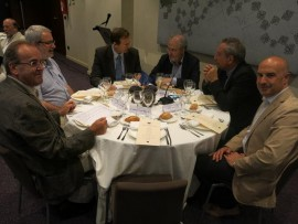 """Lleida acull la trobada anual d'experts sobre la Unió Europea """"Team Europe""""."""