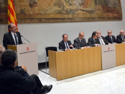 La Diputació de Lleida se suma al conveni entre diputacions i Departament d'Empresa per fomentar la creació d'ocupació.