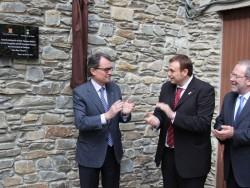 Inauguració del primer equipament cultural de Rialp.