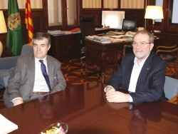 Reñé demana a Giralt unitat de la col·lecció i viabilitat per al Museu de Lleida.