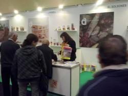 El Solsonès promociona els seus productes alimentaris a la Fira de Sant Josep de Mollerussa.