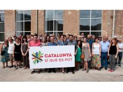 'Catalunya Sí que es Pot' es presenta com a alternativa a la llista de Mas.