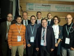Recolzament internacional a la candidatura del Geoparc Conca de Tremp-Montsec.