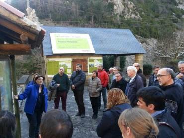 Visita als geoparcs del Sobrarbe i la Costa Basca.