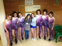 La Copa Catalana de Xous de patinatge artístic, a Tremp