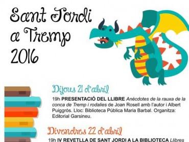 Activitats per a tots els públic per celebrar Sant Jordi a Tremp