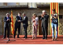 Molta expectació a Montgai per la visita del president de la Generalitat