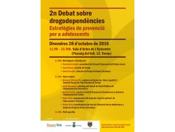 2n debat sobre drogodependències a Tremp