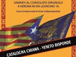 La ultradreta del Vèneto, amb l'independentisme català