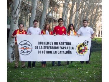 Barcelona amb la Selecció respon a Colau amb un crowdfunding