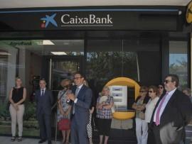 CaixaBank obre una oficina a Mequinensa per donar servei a clients d'Aragó i Lleida