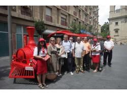 En marxa el Tren Turístic que atansa el patrimoni cultural de Lleida als visitants.